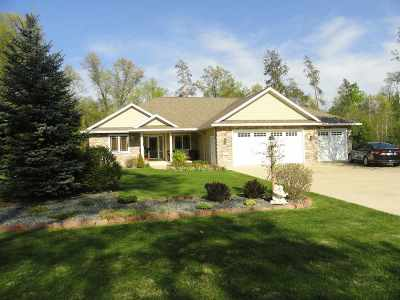Stevens Point Single Family Home Active - With Offer: 1225 Black Bear Trail