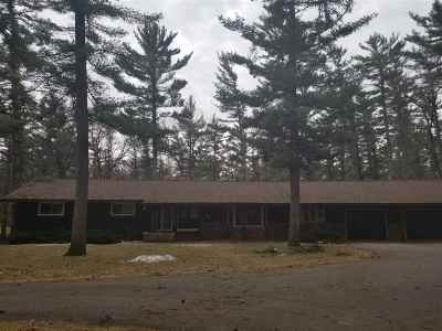 Wisconsin Rapids Single Family Home For Sale: 3420 Deer Road