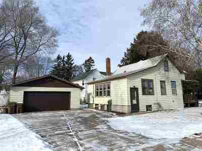 Stevens Point WI Single Family Home Active - With Offer: $109,000