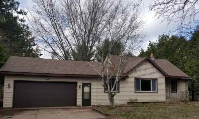 Stevens Point WI Single Family Home For Sale: $189,900