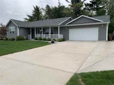 Stevens Point Single Family Home For Sale: 4601 Heritage Drive