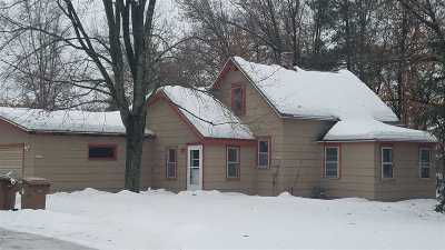 Stevens Point Single Family Home For Sale: 3609 Stanley Street
