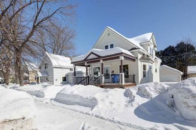 Wausau Single Family Home For Sale: 1215 Prospect Avenue