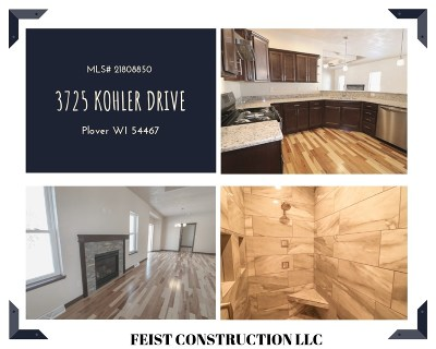 Plover Single Family Home Active - With Offer: 3725 Kohler Drive