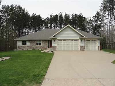 Stevens Point  Single Family Home Active - With Offer: 5000 Partridge Way