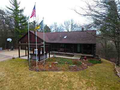 Wisconsin Rapids Single Family Home Active - With Offer: 7221 S State Highway 13