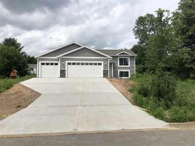 Mosinee Single Family Home For Sale: 813 Fairway Drive