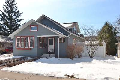 Wausau WI Single Family Home Active - With Offer: $159,000