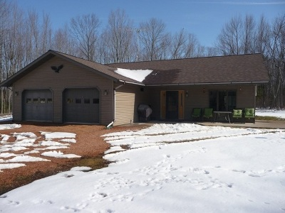 Athens Single Family Home For Sale: 228123 County Road E