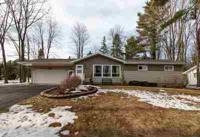 Wausau Single Family Home Active - With Offer: 3516 Wildwood Lane