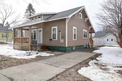 Wausau WI Single Family Home For Sale: $68,900