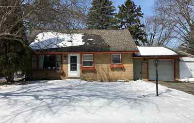Wausau WI Single Family Home For Sale: $89,900