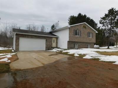 Merrill Single Family Home For Sale: W7013 Von Besser Drive