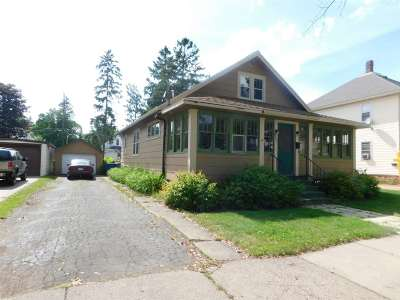 Wausau Single Family Home For Sale: 922 6th Avenue South