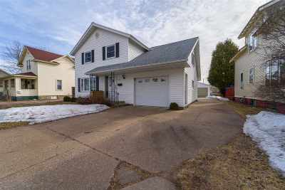 Wausau WI Single Family Home Active - With Offer: $139,900