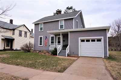 Wausau WI Single Family Home For Sale: $126,000