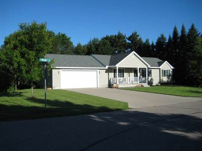 Stevens Point Single Family Home Active - With Offer: 300 Wood Lane