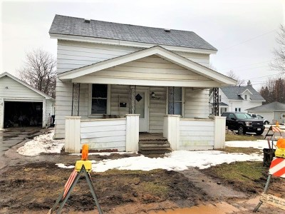 Wausau WI Single Family Home For Sale: $69,000