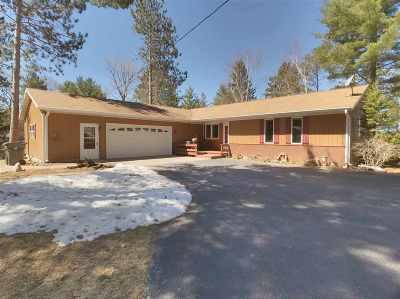Mosinee Single Family Home For Sale: 202380 Bridgeview Lane