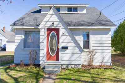 Wausau Single Family Home For Sale: 610 Rosecrans Street