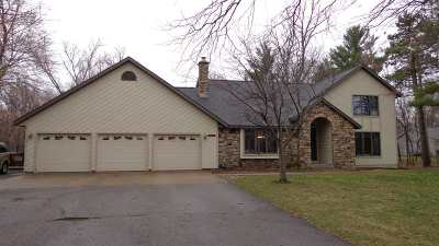 Stevens Point Single Family Home Active - With Offer: 5449 Pinewood Drive