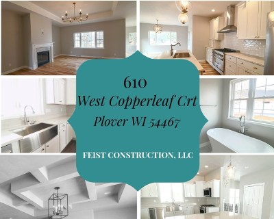 Plover Single Family Home Active - With Offer: 610 West Copperleaf Court