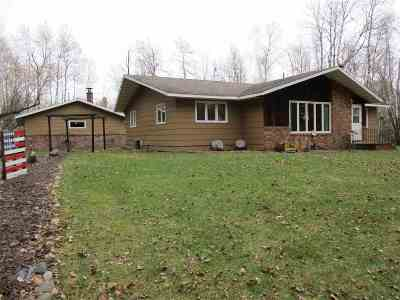 Medford WI Single Family Home For Sale: $179,900