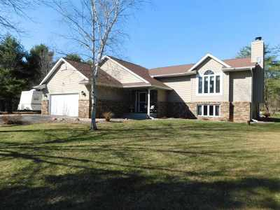 Merrill Single Family Home Active - With Offer: W7250 Rose Len Court