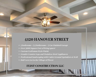 Plover Single Family Home For Sale: 4120 Hanover Street