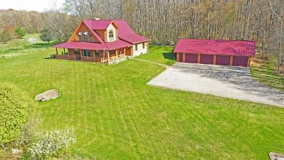 Iola Single Family Home For Sale: N8181 State Highway 49