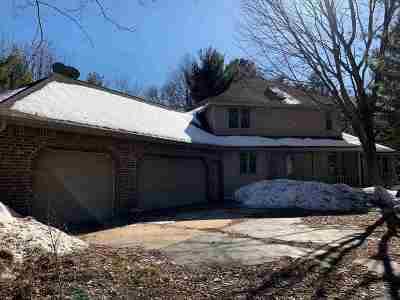 Mosinee Single Family Home For Sale: 202526 Dubay Drive