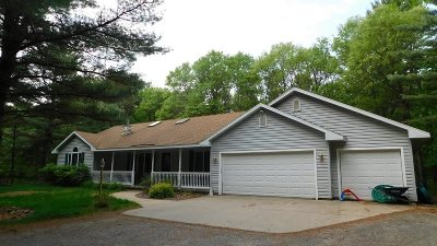 Wisconsin Rapids Single Family Home For Sale: 5888 David Drive