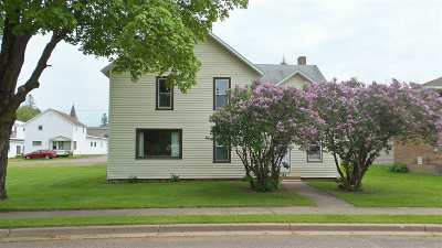 Rib Lake Single Family Home For Sale: 812 Pearl Street