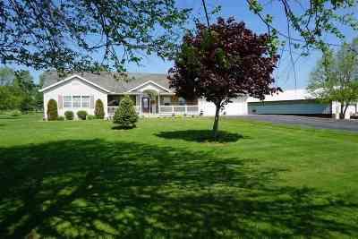 Merrill Single Family Home For Sale: N383 Hilltop Lane