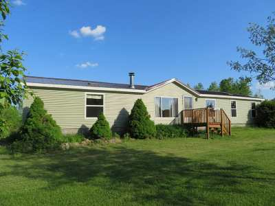 Merrill Single Family Home For Sale: N1882 County Road Mm