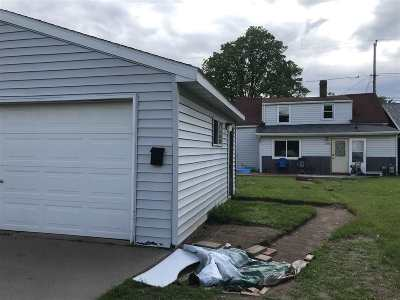 Wausau WI Single Family Home For Sale: $52,000