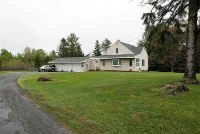 Merrill Single Family Home Active - With Offer: W1444 State Highway 64