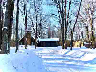 Wausau Single Family Home For Sale: 244200 Sawmill Road