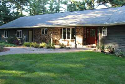 Wisconsin Rapids Single Family Home For Sale: 3931 North Valley Drive