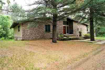Wisconsin Rapids Single Family Home Active - With Offer: 10241 Deer Road