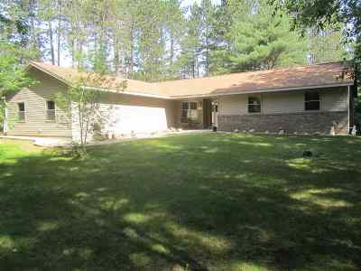 Stevens Point Single Family Home Active-Bump: 2800 Jordan Road