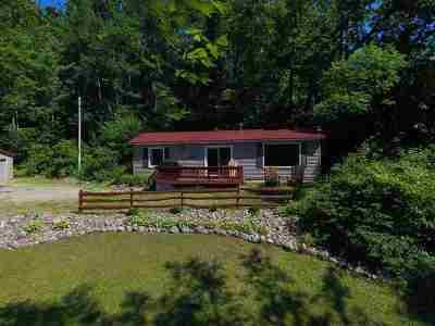Iola Single Family Home For Sale: E2996 Lake Road
