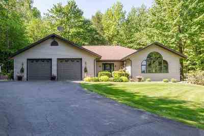 Merrill Single Family Home For Sale: N951 County Road Q