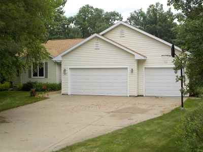 Wisconsin Rapids Single Family Home Active - With Offer: 3721 Estates Drive