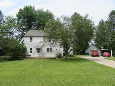 Iola Single Family Home For Sale: E614 Roosevelt Road