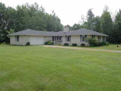 Medford Single Family Home For Sale: W8903 County Road M