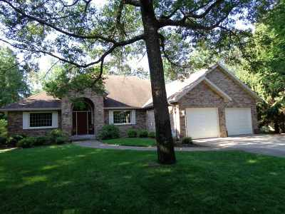 Stevens Point Single Family Home For Sale: 4309 Pioneer Drive