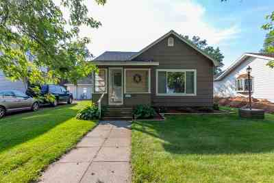 Mosinee Single Family Home For Sale: 607 7th Street