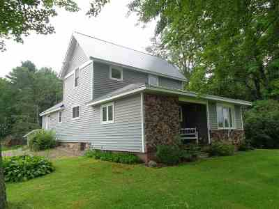Medford Single Family Home For Sale: N3740 State Highway 13