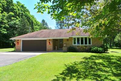 Rib Lake Single Family Home For Sale: W17 County Road M